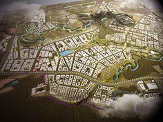 Архитектурно-градостроительная концепция развития Рязановского поселения. Проектное бюро BADR5 #BADR5 City Photo, Projects, Log Projects, Blue Prints