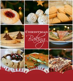Bakergirl: My favorite things to bake at Christmastime...