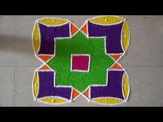 Dot's Rangoli Design - YouTube New Rangoli Designs, Rangoli With Dots, Make It Yourself, Artwork, Youtube, Work Of Art, Auguste Rodin Artwork, Artworks, Youtubers