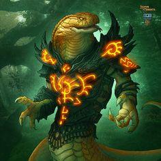 Legends of Norrath TCG by Kerem Beyit, via Behance