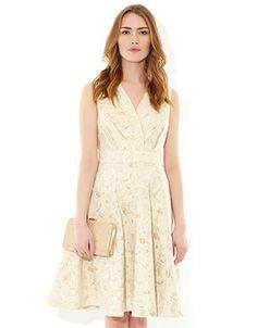 Sabrina Dress | Gold | Monsoon