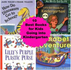 10 of the Best Books for Kids going into Kindergarten