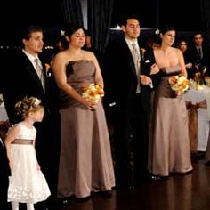 10 Mistakes With Brown Bridesmaid Dresses And Groomsmen Attire