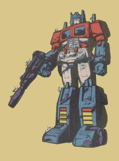 Powermaster Optimus Prime base form