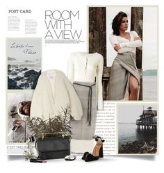 """Room With A View"" by thewondersoffashion ❤ liked on Polyvore featuring See by Chloé, Hacienda Montaecristo, I Love Mr. Mittens, Bobbi Brown Cosmetics, M2Malletier, Aquazzura and NARS Cosmetics"