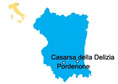 Casarsa della Delizia - Friaul-Julisch Venetien Sehenswürdigkeiten