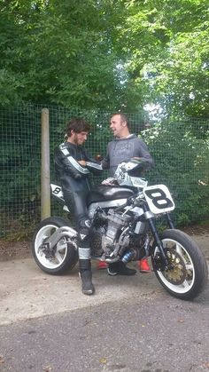 Guy Martin on his Pikes Peak bike