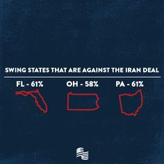 The American people are standing up and taking a stand against this dangerous nuclear deal with Iran. REPIN if you agree that Congress should REJECT the Iran Deal! www.stopthebadirandeal.com