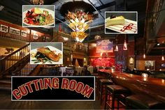 The Cutting Room beyond entertainment: Menu and decor ready for applause