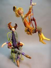 circus trapeze doll - Google Search