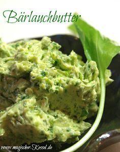 Frühlingslust: Schnelle Bärlauchbutter / herb butter with wild garlic #easter #ostern #osterbrunch