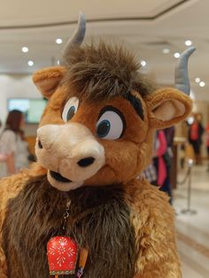 Sacred the Bull. Taken by Vectorthecrocodile at Confuzzled 2015!