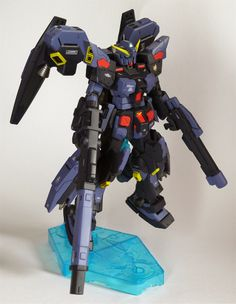 GUNDAM GUY: 1/144 Hazel Full Burnern - Custom Build