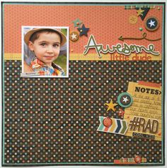 Awesome Little Dude - Scrapbook.com