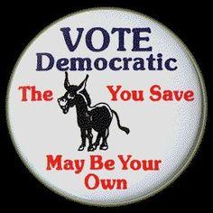 Best political button I've seen yet!  :-)