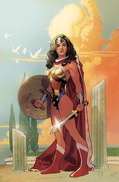 Wonder Woman by Stephane Roux
