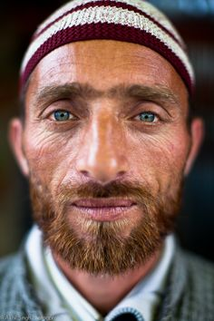Portrait from Kashmir - India