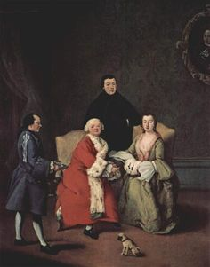 Conversation in the family - Pietro Longhi