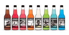 Iconic Soft Drink of Every State -- Washington - Jones Soda Jones Soda's famous nationally for making some über-weird soda varieties of dubious repute, but their standard flavors (some of which are still pretty out there, like blue bubble gum) are quite refreshing.
