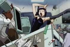 that was an epic pause. Faye Valentine, My Funny Valentine, Old Anime, Manga Anime, Anime Art, Western Anime, Cowboy Bebop Anime, See You Space Cowboy, Space Cowboys
