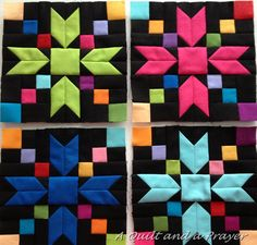 A Quilt and A Prayer - Amish Beauties A Bonnie Hunter design Amish Quilt Patterns, Amish Quilts, Barn Quilts, Pattern Blocks, Scrappy Quilts, Quilting Ideas, Cute Quilts, Small Quilts, Bonnie Hunter