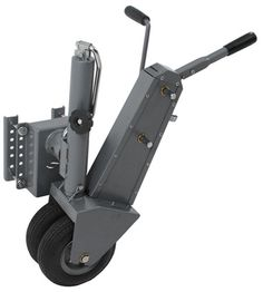 Trailer Valet Swivel Jack and Trailer Mover==> useful for short distance spotting of trailer; maybe put one on a hoof-trimming chute?