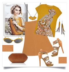 """""""Spicy Mustard Style"""" by metter1 ❤ liked on Polyvore featuring Bomedo, BA&SH, Ginger Mary, Nicole Miller, Hunting Season, Atelier Maï Martin, Serefina, Bill Blass and uisforurobilin"""