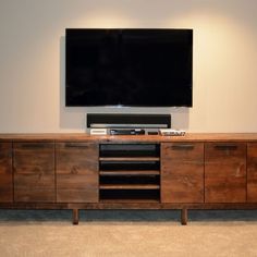 TV Entertainment Center, TV Console, Reclaimed Wood Entertainment Center,  Industrial Console, TV Stand, Wood Metal Console Center | Tv Entertainment  Centers ...