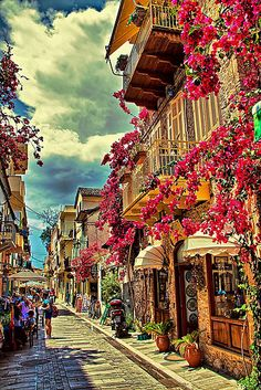 Greece Travel Inspiration - Town of Nafplio (Peloponnese) Greece.I MUST visit this place! Places Around The World, Oh The Places You'll Go, Places To Travel, Places To Visit, Around The Worlds, Santorini, Wonderful Places, Beautiful Places, Patras