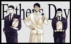 "◤◢◤◢ on Twitter: ""Father's Day… "" Fathers Day, Golden Kamuy, Fandoms, Twitter, Drawings, Fictional Characters, Heart, Father's Day, Sketches"