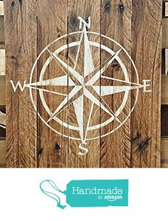 Handmade Reclaimed Pallet Wooden Compass Sign from seasiderelics http://www.amazon.com/dp/B01EXJCYDY/ref=hnd_sw_r_pi_dp_orMixb0F7GD02 #handmadeatamazon