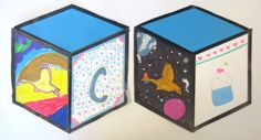 Cube Mural Inspired by Street Artist Thank YouX – Art is Basic Class Art Projects, Middle School Art Projects, Classroom Art Projects, Art Classroom, Projects To Try, Art Lessons Elementary, Art Party, Mural Painting, Elements Of Art