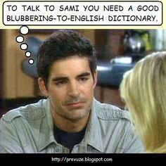 Rafe's communication problems with Sami aren't all his fault.