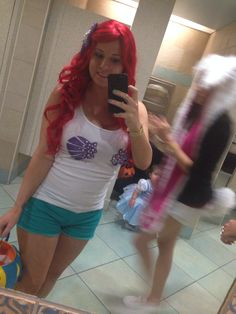 Little mermaid costume for mickeys not so scary halloween party