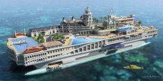 """Yacht """"Streets Of Monaco"""".  1,1 miliardi non trattabili."""