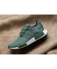 c62b534f8 Adidas NMD R1 Trainers In Trace Green Adidas Nmd R1
