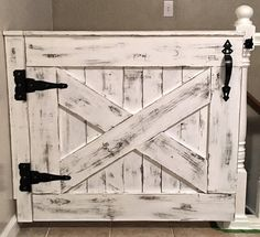 Barnwood Baby/Pet Gate by RusticAccentsShop on Etsy