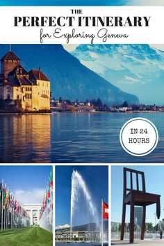 Visiting Geneva and not sure what to do? Check out this perfect itinerary for exploring Geneva in 1 day. It's jam packed!