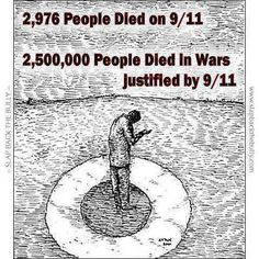 2,976 People Died on 9/11 | Anonymous ART of Revolution