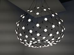 Mesh light by Francisco Gomez Paz for Luceplan.