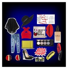 A fashion look from February 2016 featuring red crop top, cape coats and blue jeans. Browse and shop related looks. Paul Smith, Motel, Free Spirit, Sephora, Jimmy Choo, Valentino, Street Wear, Topshop, Michael Kors