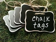 Useful for anything -- from labeling baskets to leaving notes to holiday place cards!