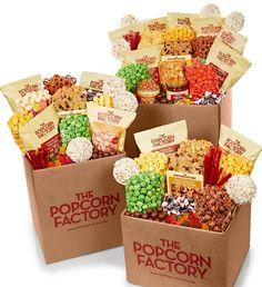 Jumbo Snack Box from The Popcorn Factory on Catalog Spree, my personal digital mall.