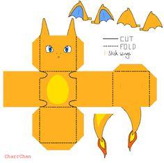 Charizard Papercraft by CharrChan.deviantart.com on @DeviantArt