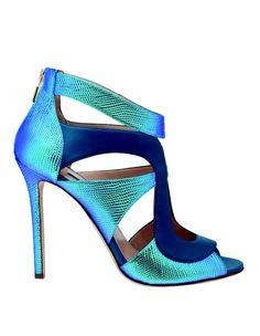 Jolie chaussure bleue
