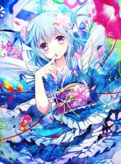 Anime Girl | | via Tumblr