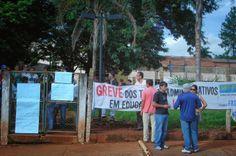 Jataí News: UFG Jataí - Universitários continuam em protesto