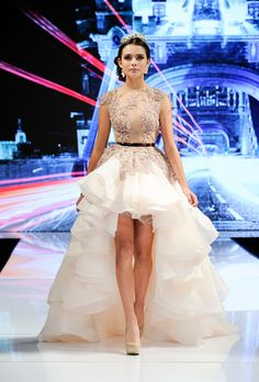 Runway Report: Yas Couture Spring / Summer 2015 by Elie Madi during LA Fashion Week.   LA Fashion Judge