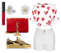 """""""hearts on hearts!"""" by fcharese ❤ liked on Polyvore"""