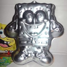 #wilton #Spongebob #wilton #cake #pan #mold #treat #Baking #kitchen #yummy